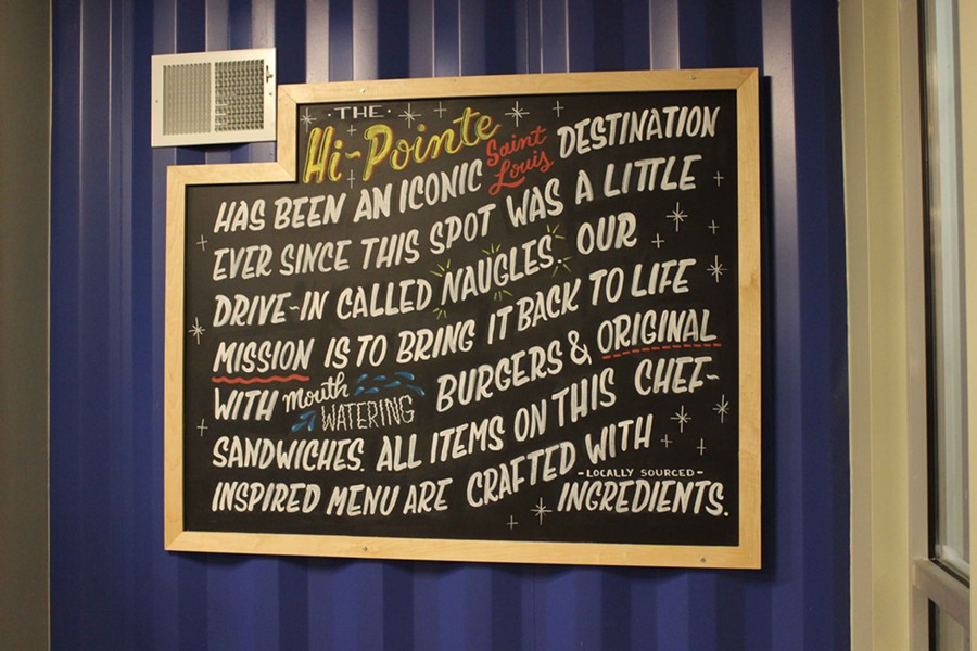 All the Hi-Pointe Drive-In menu items are crafted with locally-sourced ingredients. - PHOTO BY LAUREN MILFORD