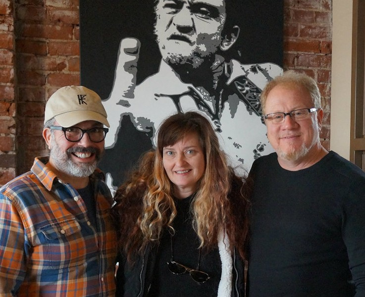 Frank Uible, Liz Schuester and Chip Schloss are bringing Firecracker Pizza & Beer to the Grove this spring. - COURTESY FIRECRACKER PIZZA