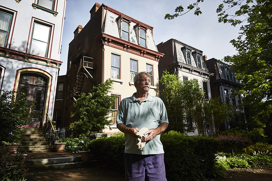Charlie Struckhoff and his family rehabbed a home on Missouri Avenue. | THEO WELLING - THEO WELLING