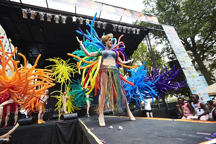 Pride Fest celebrates 40 years this weekend. - THEO WELLING