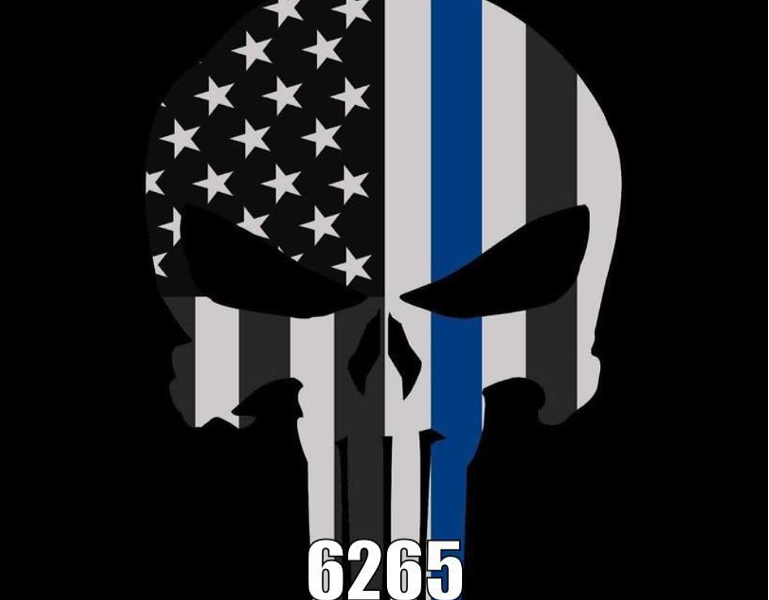 This is the profile pic on the St. Louis Police Officer Association's Facebook page. - FACEBOOK