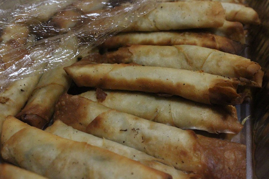Borek, a pastry stuffed with ingredients such as meat and potatoes. - KATIE COUNTS