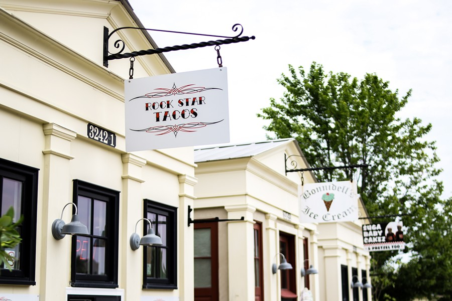 Rock Star Taco Shack hopes to build community in New Town. - CHELSEA NEULING