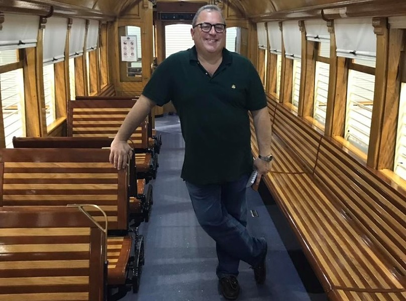Yale Hollander is spearheading a series of comedy shows coming soon to the Loop Trolley. - KEVIN BARBEAU