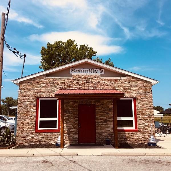 Schmitty's Sunset Inn Again is a small roadside bar that sits on the edge of a cornfield. - THOMAS CRONE