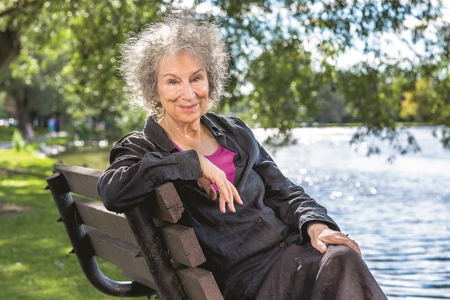 Margaret Atwood goes to the movies to talk about her new novel, The Testaments. - (C) LIAM SHARP