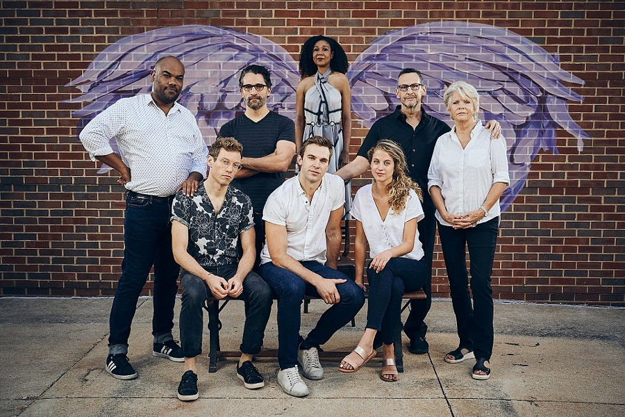 The Repertory Theatre St. Louis opens its new season — and era — with Angels in America: Parts One and Two. - PETER WOCHNIAK