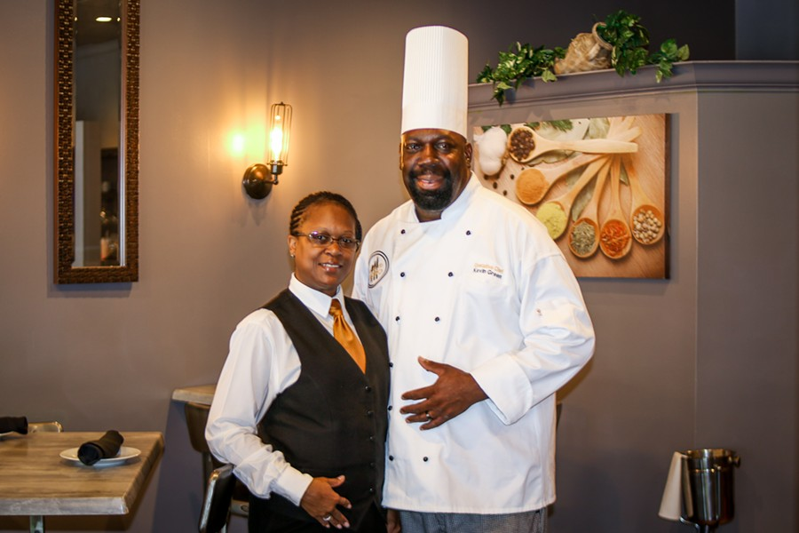 Marion and Kevin Green, owners of West End Bistro. - CHELSEA NEULING