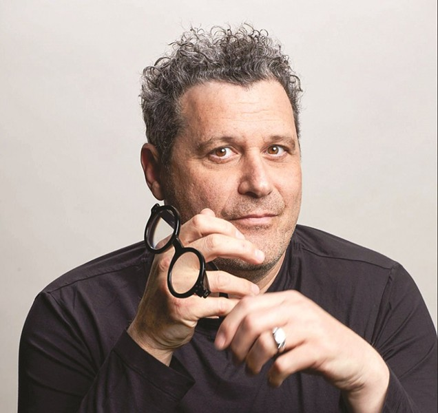 Fashion designer Isaac Mizrahi discusses his memoir as the keynote speaker for this year's St. Louis Jewish Book Festival. - GREGG RICHARDS