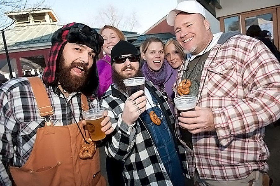 Stop drinkin' beer on the couch, and start drinkin' in the Bottleworks' parking lot. - JON GITCHOFF