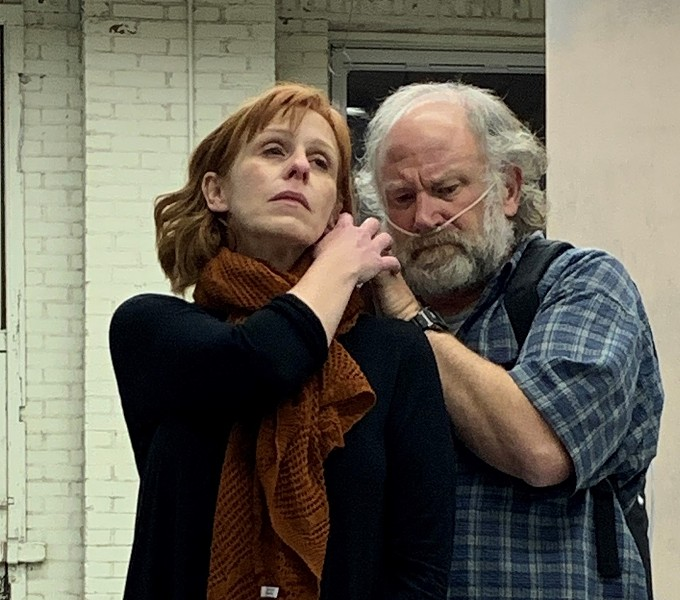 Laurie McConnell and John Pierson in Annapurna at St. Louis Actors' Studio. - STLAS.COM