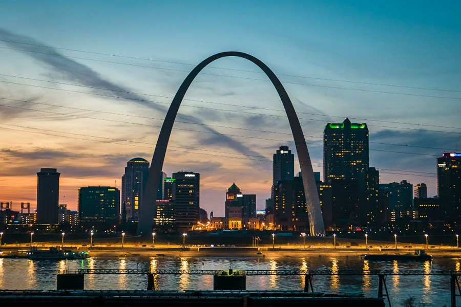 The woman returned to St. Louis from Italy earlier this week. - JASON CLUTS