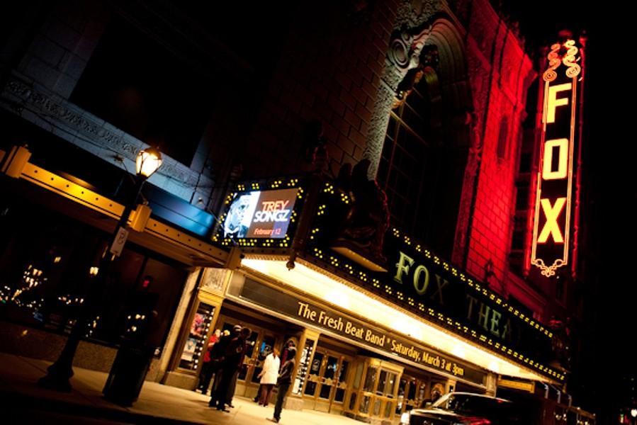 The Fox Theatre has cancelled everything on its calendar through March 31. - JON GITCHOFF