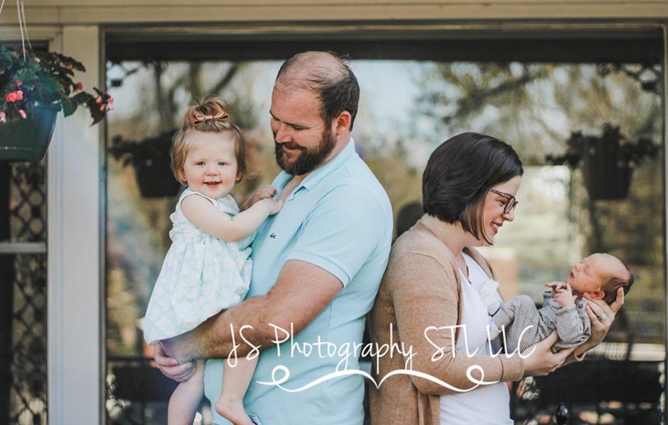 Patsy Schmermund and her family. - PHOTO COURTESY JESSICA SINGLETON