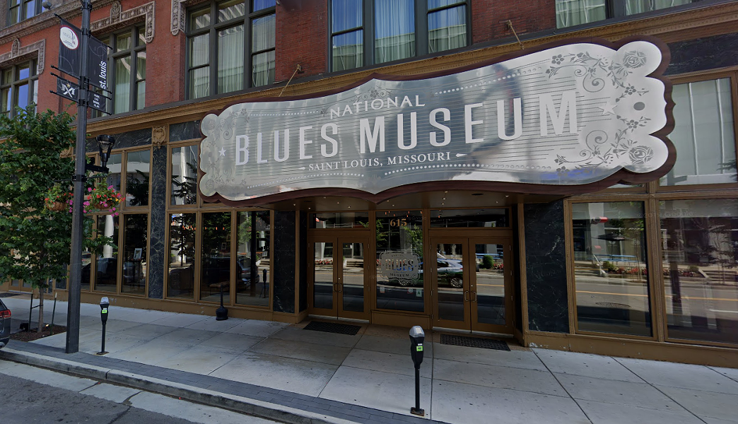 The National Blues museum is bringing live music to the streets of downtown all summer. - VIA GOOGLE MAPS