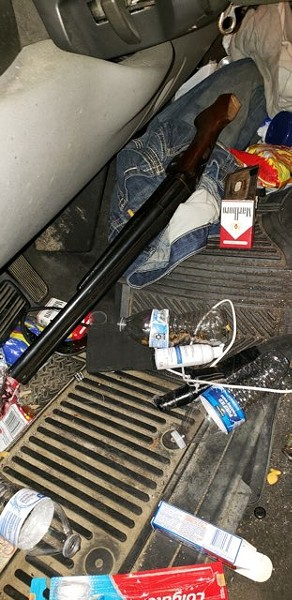 A photo of the shotgun police say Webb used. - COURTESY OF ST. LOUIS POLICE