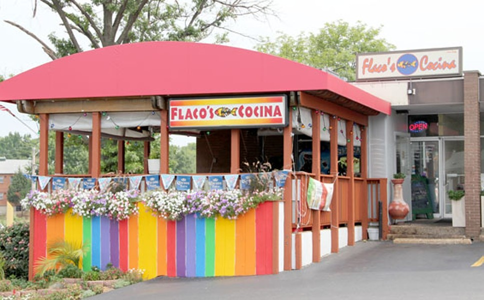 The fiesta is over at Flaco's Cocina. - THE RIVERFRONT TIMES