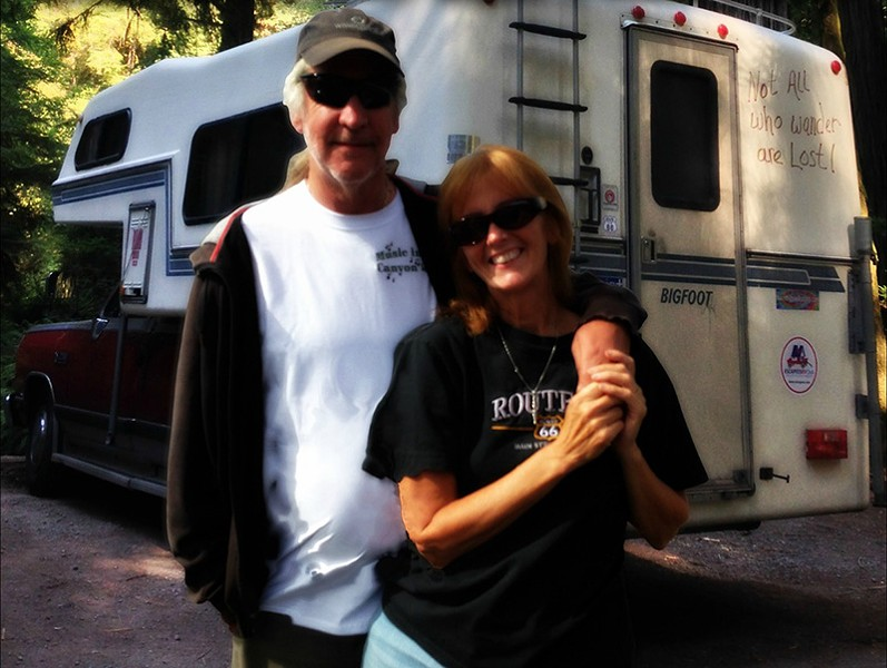 Trisha Barnes and her husband are looking to downsize to a conversion van. - COURTESY OF TRISHA BARNES