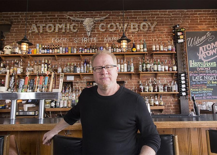 Atomic Cowboy's Chip Schloss is an accidental restaurateur. - MABEL SUEN