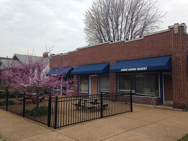The former Annie Moons Bakery in Tower Grove South could become a food truck court. - PHOTO BY DOYLE MURPHY