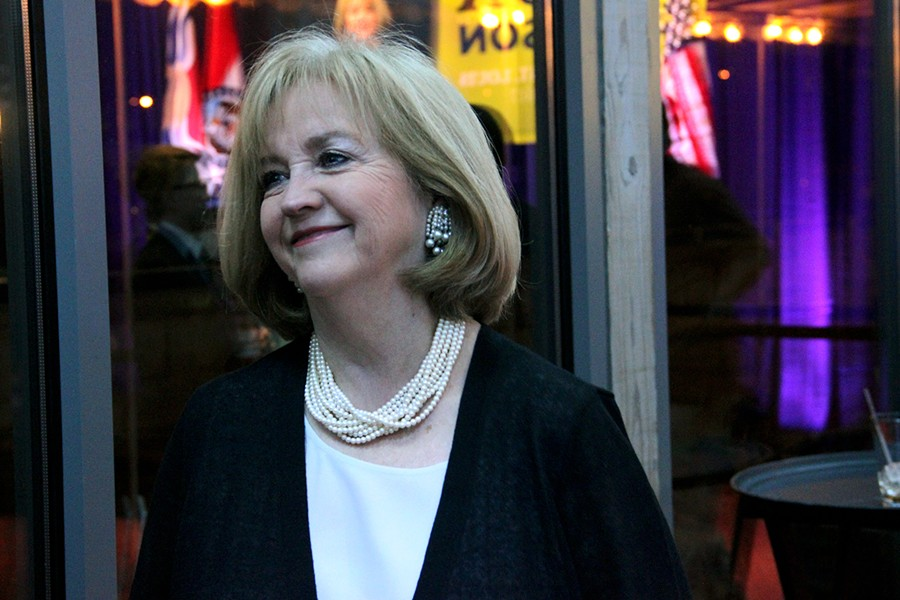Lyda Krewson, St. Louis' first female mayor. - PHOTO BY DANNY WICENTOWSKI