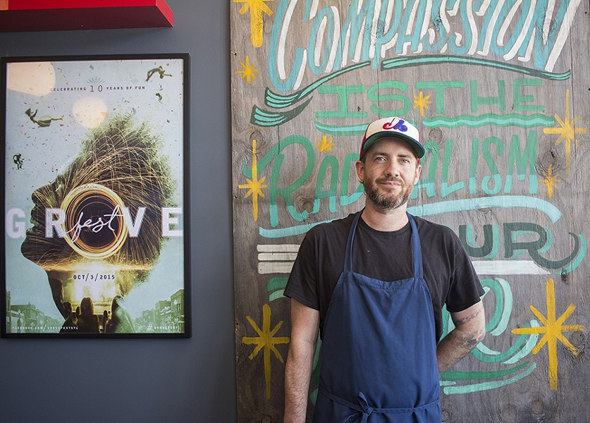 Scott Davis worked at some of the city's top restaurants before landing his current gig at Rise. - PHOTO BY MABEL SUEN