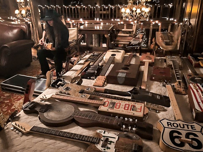 Cigar Box guitars can be constructed out of a wide range of materials.