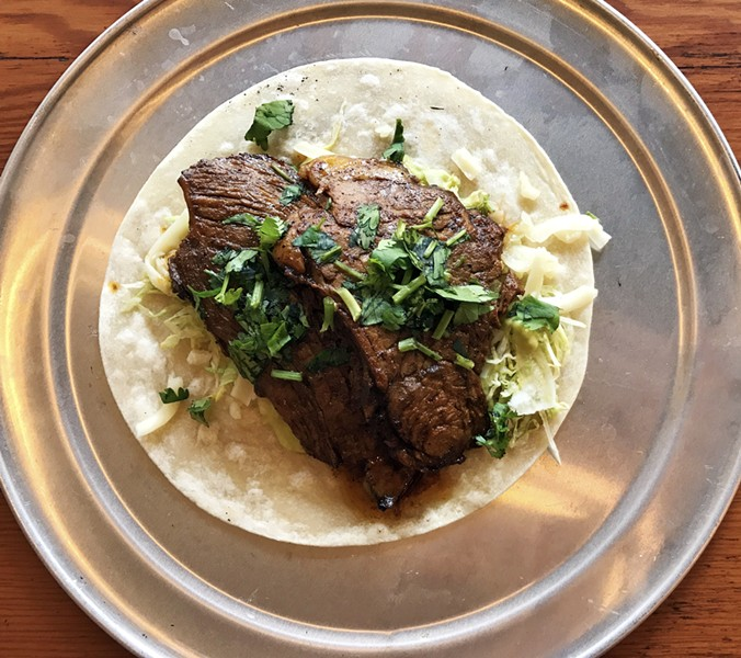 STEAK TACO | SARA GRAHAM