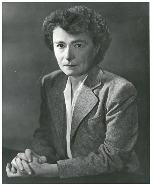 Gerty Cori in 1951. - COURTESY OF BECKER MEDICAL LIBRARY