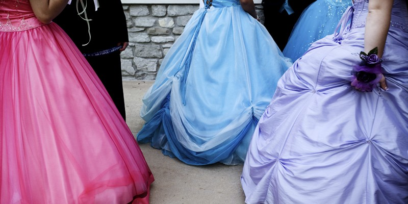 The Hoop Skirts of Metro East The hoop skirts of Southern Illinois prom fame.