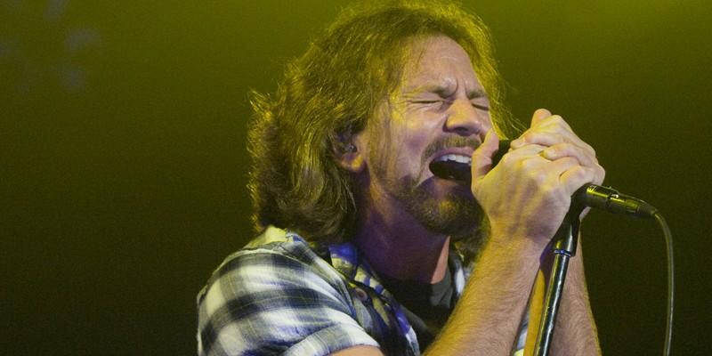 Pearl Jam at the Scottrade Center, 5/4/10 Eddie Vedder of Pearl Jam.