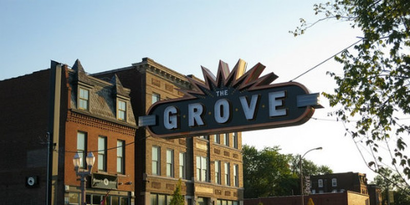 The Grove has become the city's hottest neighborhood for nightlife -- to the chagrin of some residents.