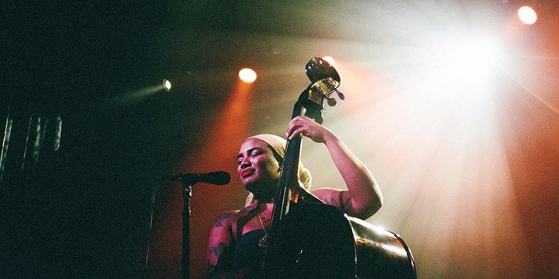 Bassist/songwriter Tonina Saputo.