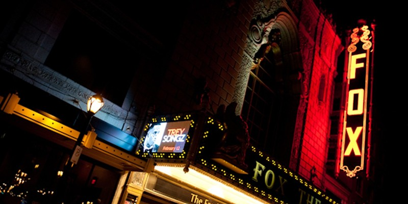 The Fox Theatre has cancelled all its 2020 shows.