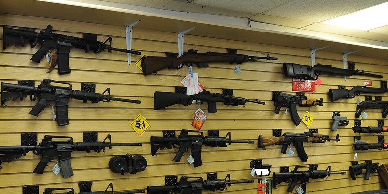 Gun sales has risen during the pandemic.