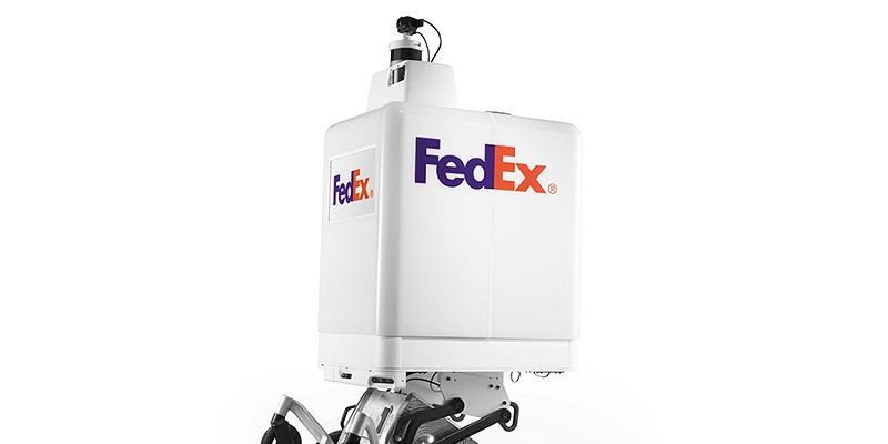 Roxo, the FedEx On Demand Bot.