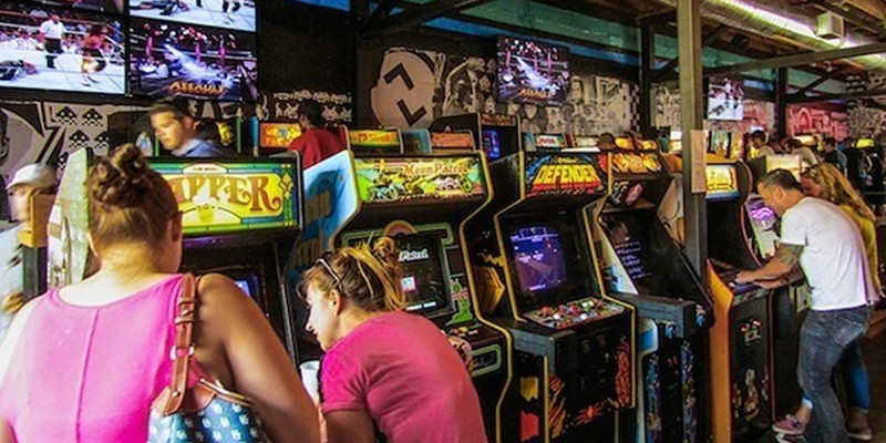 Up-Down Arcade Bar Offering $5 in Tokens to Anyone Who Gets Vaccinated