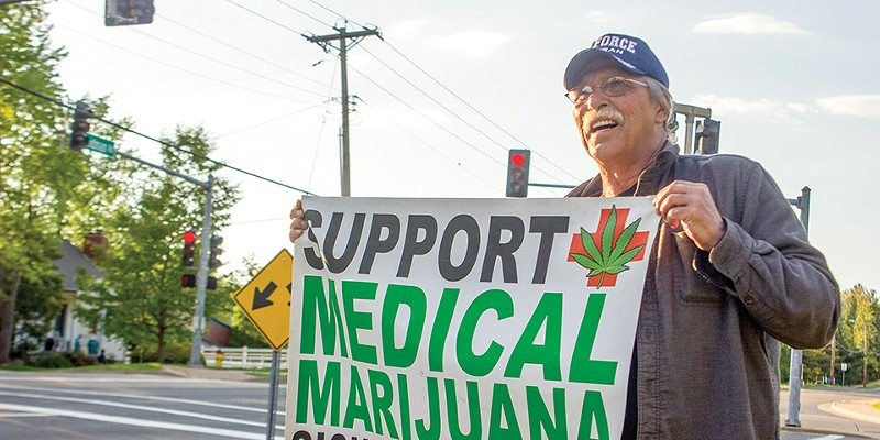 Jeff Mizanskey served decades in prison for marijuana until his sentence was commuted.