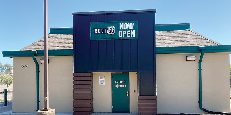 Root 66 is a placer where you can buy marijuana.
