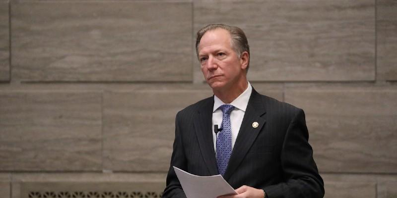 Sen. Bob Onder, R-Lake St. Louis, called the Missouri Supreme Court judges black-robed tyrants.