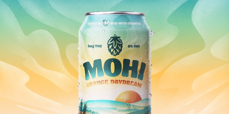 Mohi aims for the sweet spot where non-alcoholic craft beer meets THC-infused drinks.