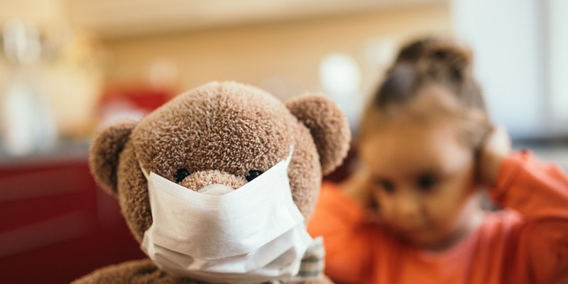 Jefferson County reported a 352% increase in cases of children diagnosed with COVID-19 from June to July.