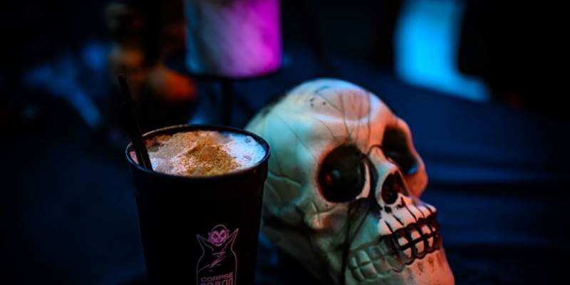 Corpse Reviver is back with new spooky drinks this year.