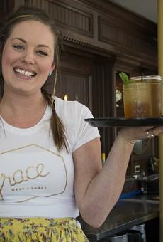 Elisa Lewis keeps things running at Grace Meat + Three.