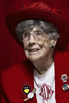 Cardinals' Oldest SuperFan, Connie Dorsey, Has Died