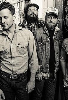 Evan Felker, Turnpike Troubadours' lead singer, is that handsome gentleman second from the left.