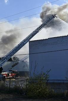 A massive November 15 blaze destroyed Reedy Press' inventory.
