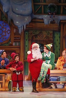 Elf the Musical opens this week at the Peabody Opera House.