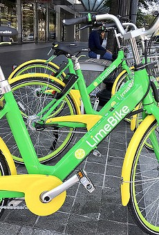 Dockless bike-sharing company LimeBike is one of several active in Washington D.C.. Is St. Louis next?