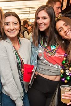 Get ready for all the fun at this year's Mardi Gras festivities — with parties that kick off this weekend.
